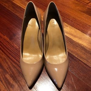 J Crew Nude Pumps